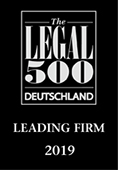 legal 500 award - Schürmann Rosenthal Dreyer