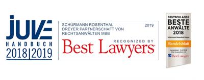 SRD Rechtsanwaelte: Juve Kanzlei, Best Lawyers, Handelsblatt