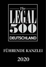 Legal 500: SRD Rechtsanwälte gehört zu Deutschlands führenden Kanzleien