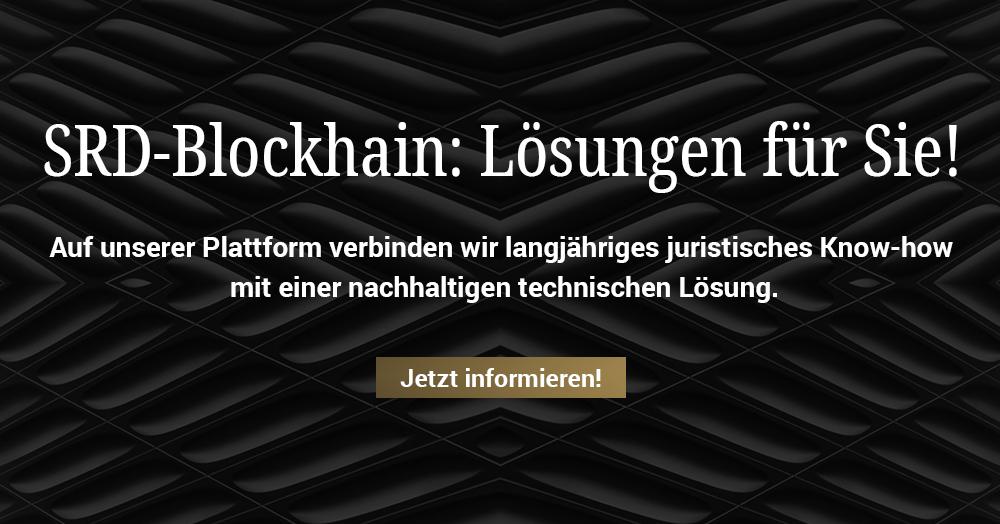 SRD-Blockchain: Lösungen für Unternehmen