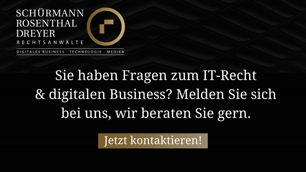 Kontaktieren Sie uns jetzt zum it-recht und digitalen business