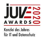 Juve Awards 2020: Kanzlei des Jahres für IT und Datenschutz